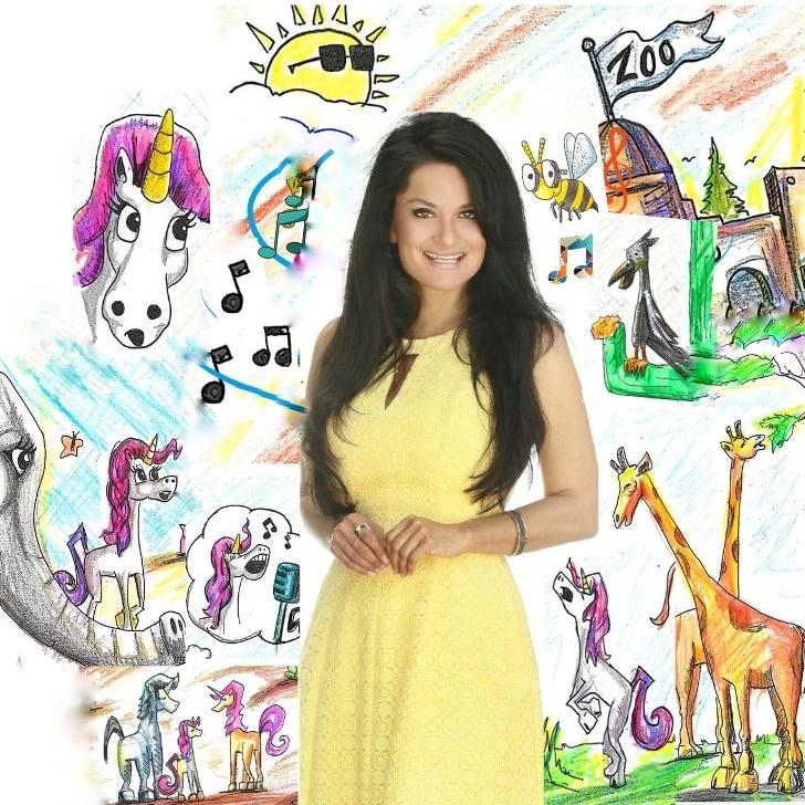 lisa caprelli award winning children's author Unicorn Jazz