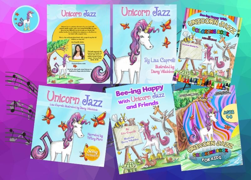 unicorn jazz author lisa caprelli