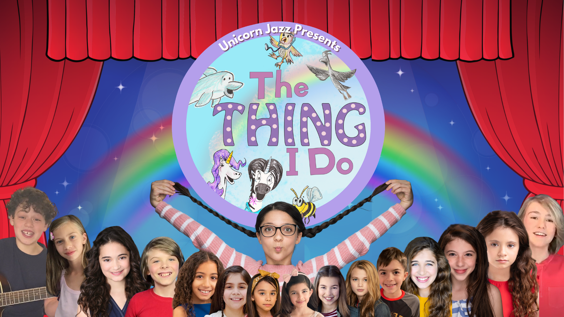 Unicorn Jazz Presents The Thing I Do is a kids show series on Amazon TV and more TV platforms coming soon!